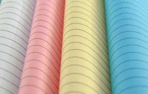 310T Anti-static Twill Fabric, ESD Fabric for garment at laboratory