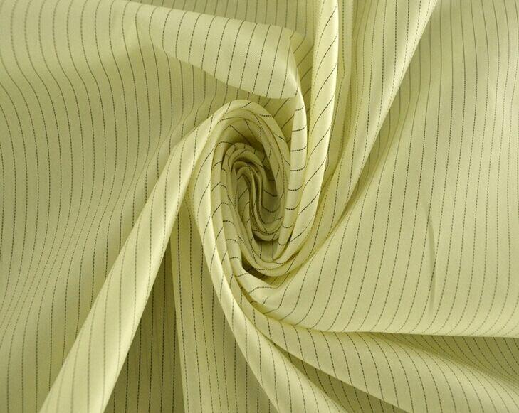 Anti-static plain stripe taffeta fabric, ESD Fabric